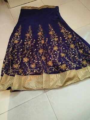 ��❤Beautiful And Stunning Occasion Wear With stitched Lehnga +Blouse Unstitched
