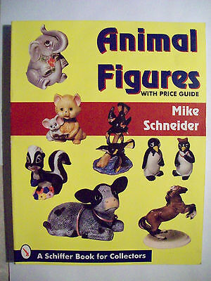 ANTIQUE ANIMAL Figures PRICE GUIDE COLLECTOR BOOK 800 color photographs