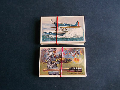 2 x Full Sets Wills ( Embassy ) World of Firearms / Speed ) 1980's