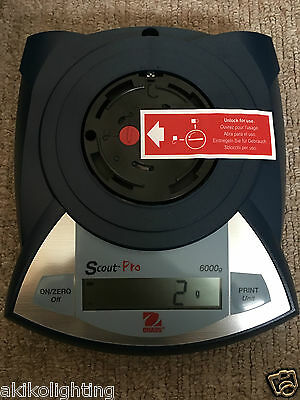 BN OHAUS SCOUT PRO SPU6000 71160445 Portable Digital Balance Weighing Scales
