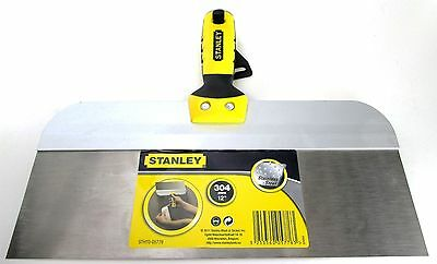 "Stanley STHT0-05776 12"" Stainless Steel Taping Knife with Bi-Material Handle"