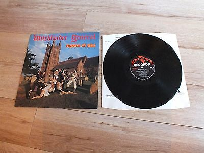 Witchfinder General 'friends Of Hell' Hmr Lp 13 Heavy Metal Records 1983 Uk