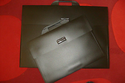 Back to school, college A2 Black Carry Case Portfolio - Flat Art Storage Folder