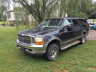 2000 Ford Excursion Limited 2000 Ford Excursion 7.3 Powerstroke Diesel 4x4