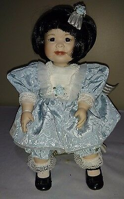 "Marie Osmond Dolls ""Lin"" Asian Doll from the ""Toddler"" Series 13"" NRFB"