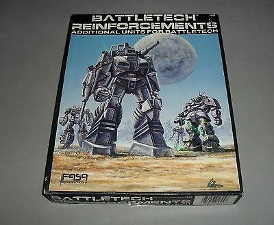Battletech Reinforcements Additional Units FASA RPG Board Game 1987 RARE