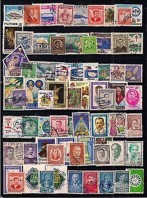 Philippines-Selection Of Fine Used Stamps.all Different.nice Clean Lot.