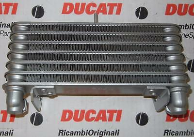 2001 DUCATI 996R oil cooler radiator 54840361A , modify for 2002-04 998 Bostrom