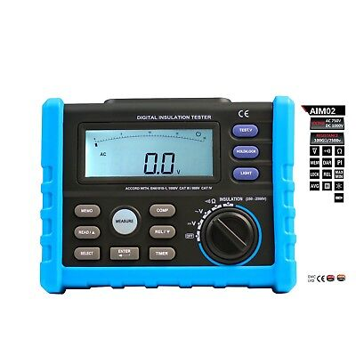 AideTek DIGITAL INSULATION TESTER multimeter AIM02 high voltage insulation