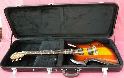 NEW HARD SHELL CASE FITS BC RICH MOCKINGBIRD GUITAR a Hard to Find Case