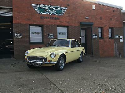 1969 MGC GT, Primrose Yellow, overdrive, wire wheels * PRICE REDUCTION*