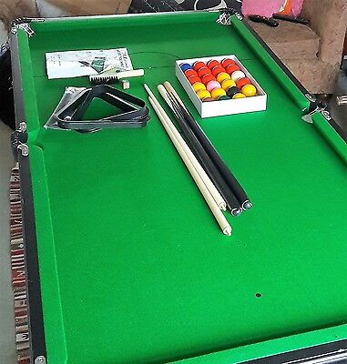 Mightmast Leisure 6Ft Pool/snooker Table