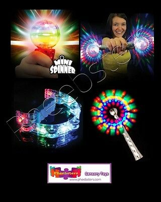SENSORY LIGHT UP & FLASHING TOY SET - Autism Special Needs ADHD ASD TOYS Wand