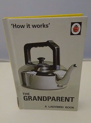 'How it works' The Grandparent A Ladybird Book Retro Adults Fun gift New