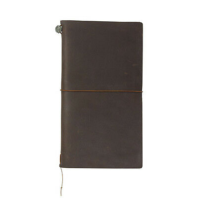 Genuine Midori Brown Regular Size Traveler's Notebook