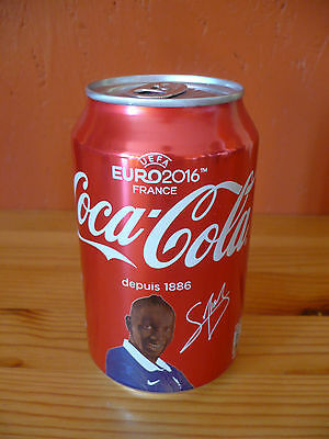 Coca-Cola Dose Frankreich / Can from France UEFA EURO 2016 (No. 5), voll