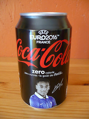 Coca-Cola Zero Dose Frankreich / Can from France UEFA EURO 2016 (No. 11), voll