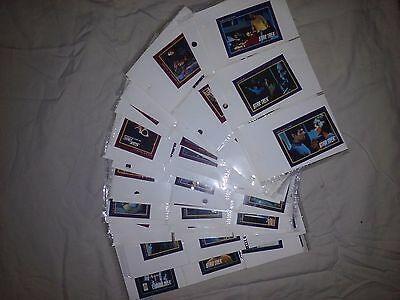 Star Trek 1991 Paramount pictures Trading Cards. 120+ cards!