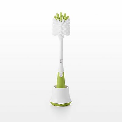 Oxo Tot Bottle Brush with Stand - Green