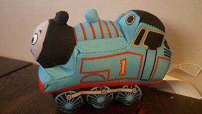 "THOMAS the TRAIN Mini Plush Stuffed Animal 5"" long 2010"
