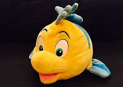 """Flounder Collectible Soft Toy Disney's Little Mermaid 22"""" By Mattel"""