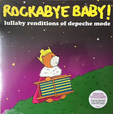 """Rockabye Baby! Lullaby Renditions of Depeche Mode"" 2016 RSD/Black Friday LP"