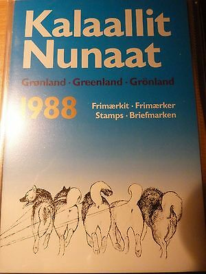 Greenland Stamps year pack 1988