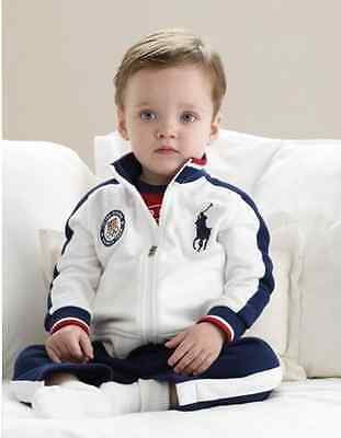 NEW  Kids Toddler Baby Boys Sportswear Coat Sets +Pants Outfits Clothes 2-3Y