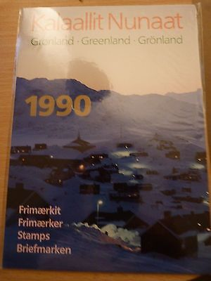 Greenland Stamps year pack 1990