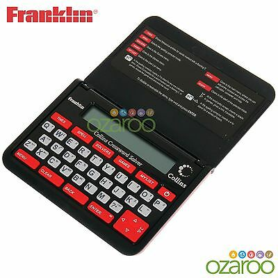 Franklin Collins English Thesaurus Dictionary Crossword Solver Helper - CWM109