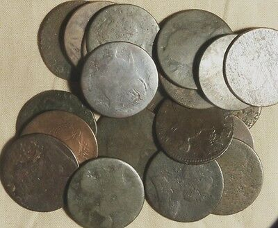 20 Low Grade Early Coppers I'm Told some are Used in the Colonies