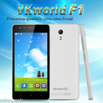 4.5'' VKWORLD F1 3G Smartphone Android 5.1 Quad Core Dual SIM 8GB Mobile Phone
