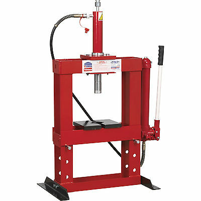 Sealey Hydraulic Press 10t Bench Type without Gauge