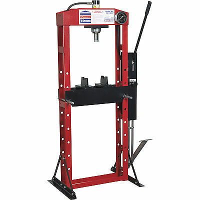 Sealey Premier Hydraulic 15t Floor Press with Foot Pedal