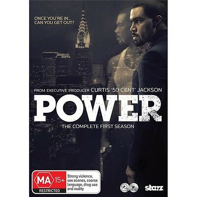 POWER.-Season 1-Region 4-New AND Sealed- 2 DVD Set-TV Series