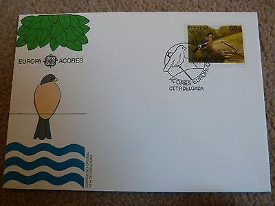 Azores First Day Cover Bird