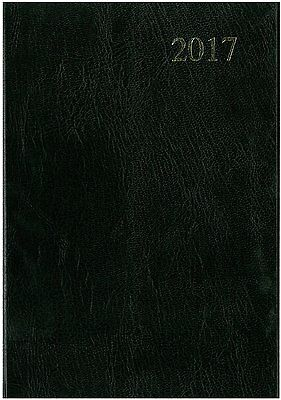 2017 Black A5 Week to View Diary