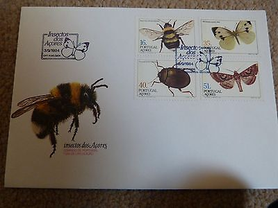 Azores First Day Cover Insects