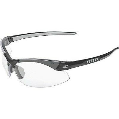 Edge Eyewear DZ111-G2 Safety Glasses, Black with Clear Lens