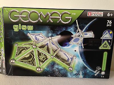 Geomag Glow In The Dark 72 Pieces