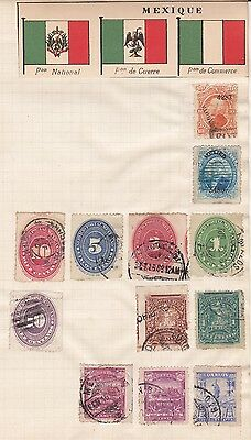 Mexico Collection. Old Time Selection.  Bps.