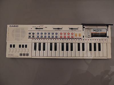 Casio Pt-80 Electronic Musical Instrument. With Gard. Unused.