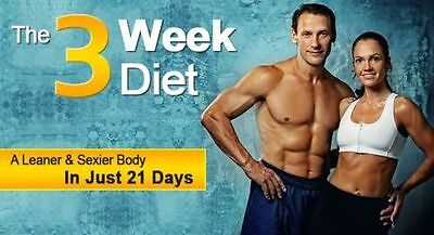 The 3 Week Diet -How To Lose Weight In Only 21 days (Get In Shape For Holidays)