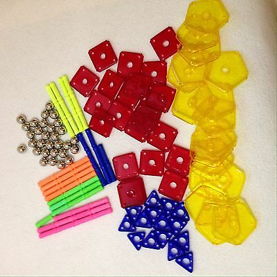 Geomag Neon Fluo Set 108 Pieces