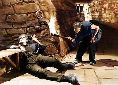Frankenstein 1931 color photo Print on canvas reproduction
