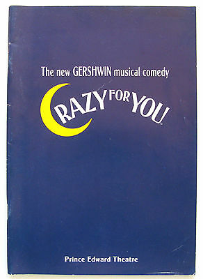 Crazy for You Ruthie Henshall Kirby Ward Chris Langham Craig Revel Horwood