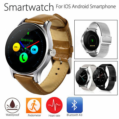 V360 Waterproof Sport Bluetooth Smart Watch Phone mate for iOS Android iPhone