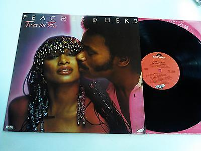 Peaches & Herb Twice The Fire Lp 1979