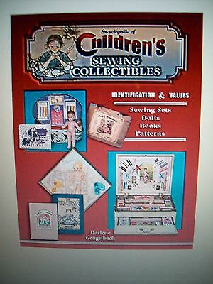 Sewing Children Collectibles Price Guide Collector's Book Patterns Sets Dolls