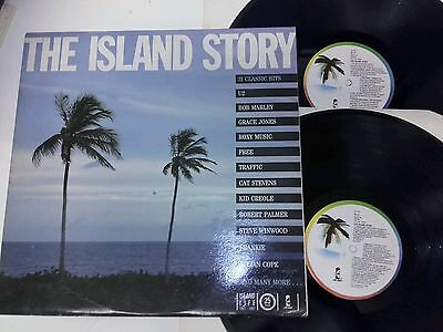 The Island Record Story Various Orig 2X Lp Records Bob Marley Jethro Tull & More